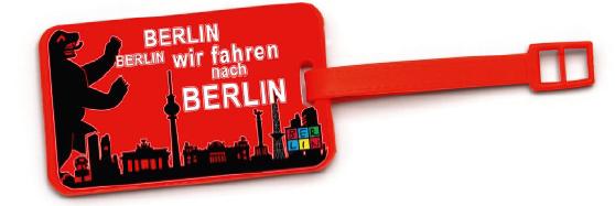 Kofferanhänger BERLIN