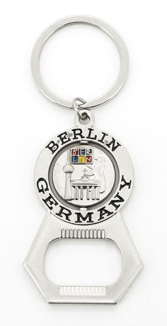 Schlüsselanhänger Flaschenöffner BERLIN Germany