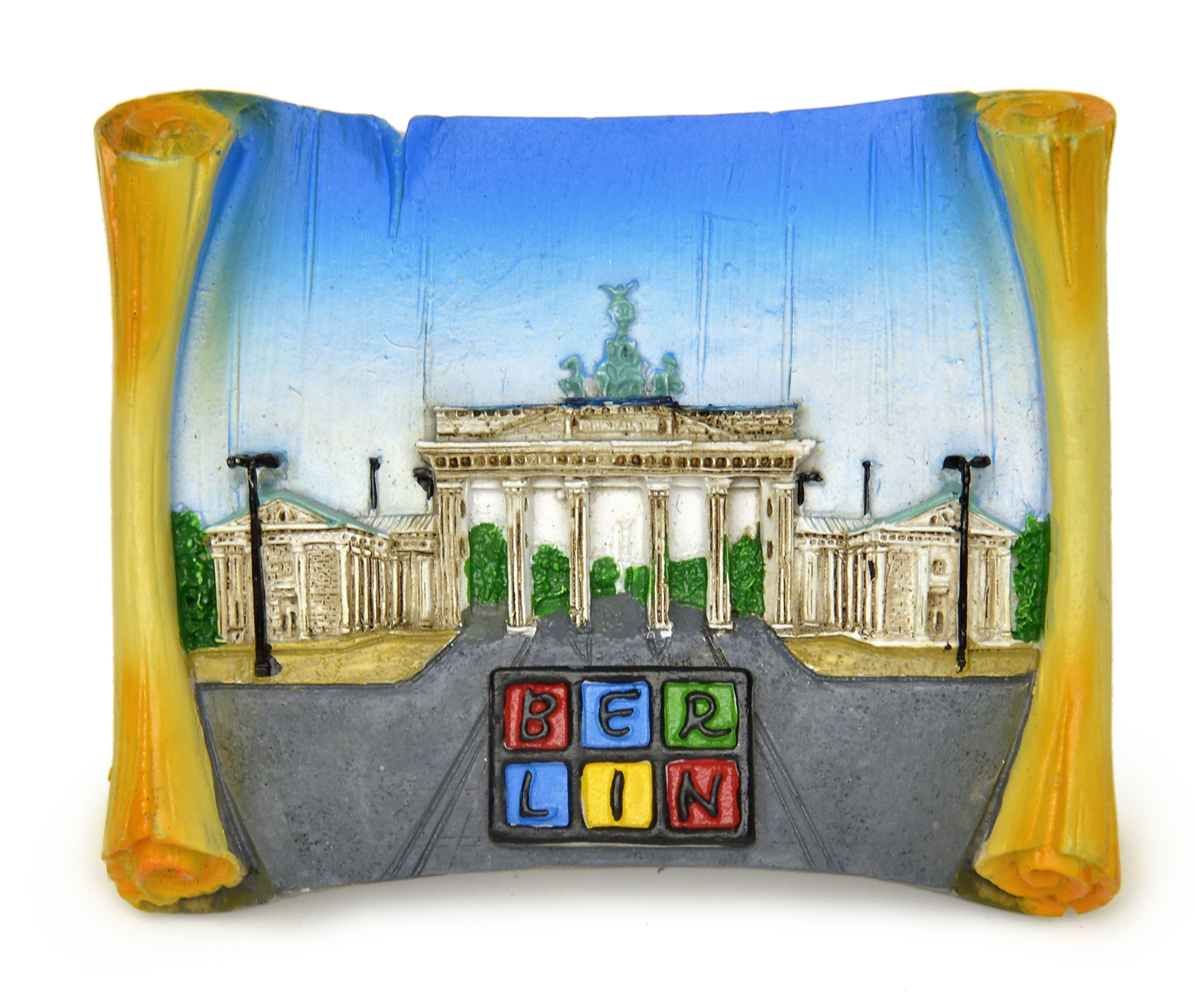 Magnet BERLIN B'Tor Polyresin