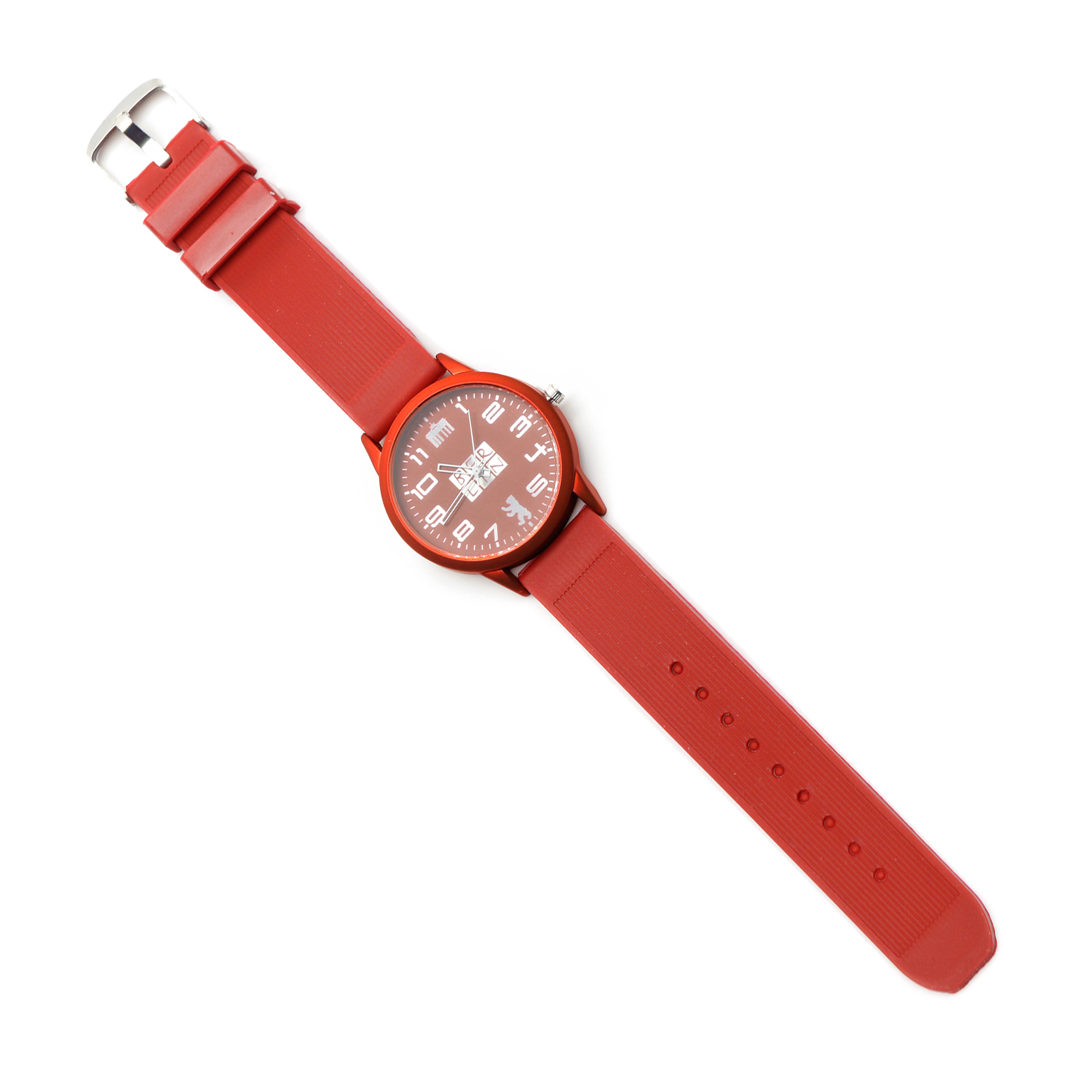 Armbanduhr BERLIN, rot