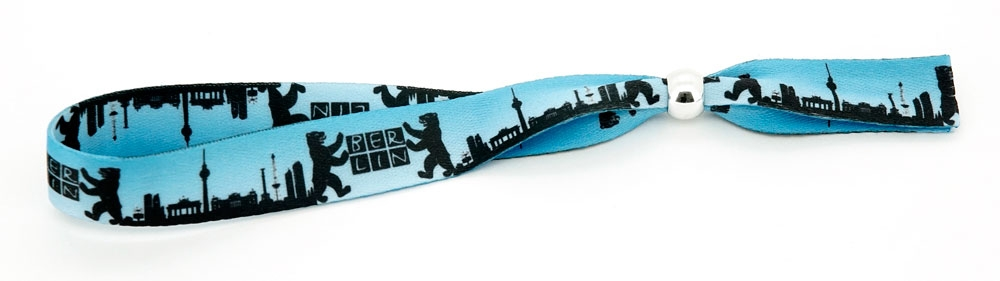 Festival Armband Berlin blau