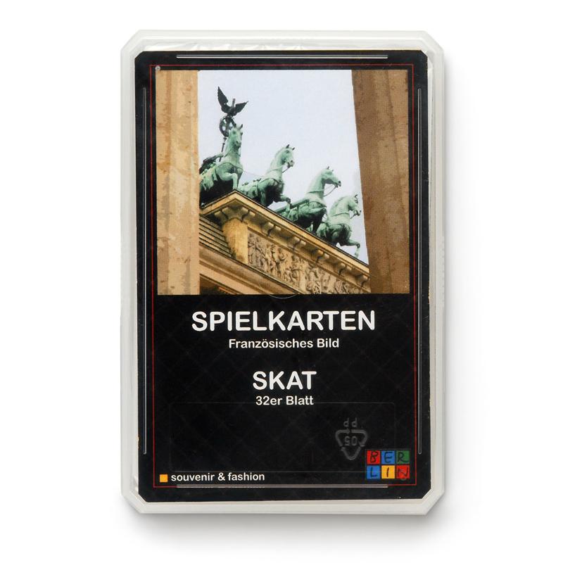 Kartenspiel BERLIN -  Franz. Blatt