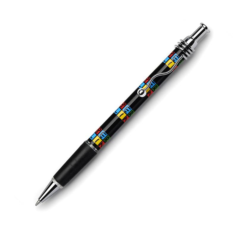 Kugelschreiber BERLIN schwarz-bunt
