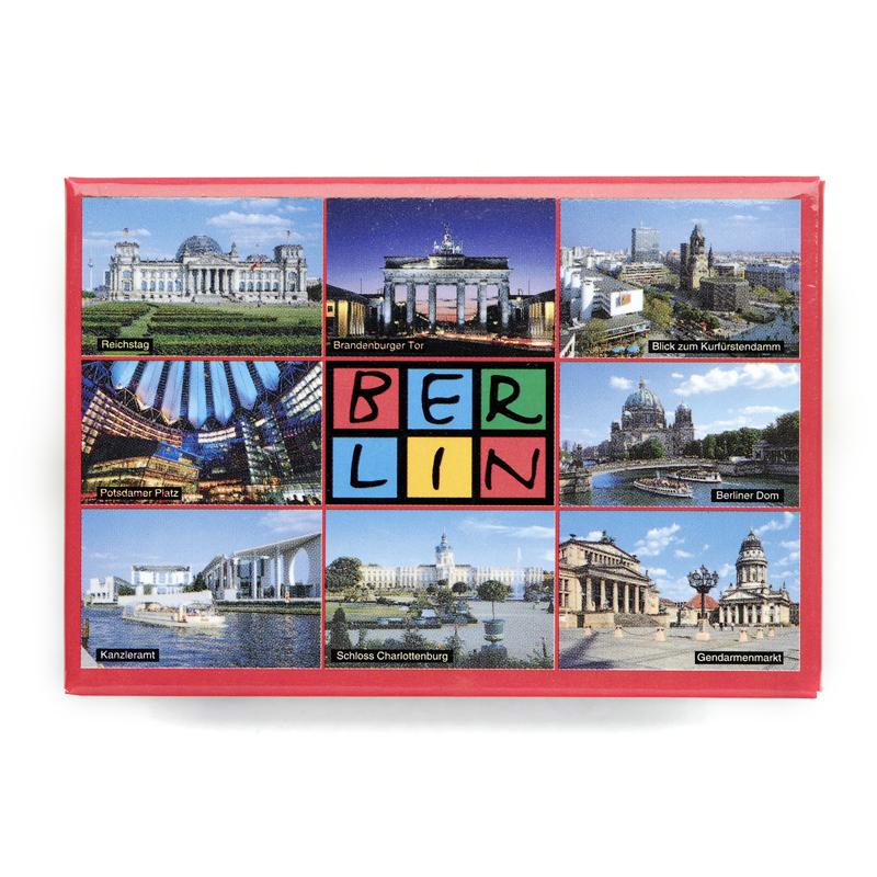 Magnet im Postkarten-Stil 8er Fotos