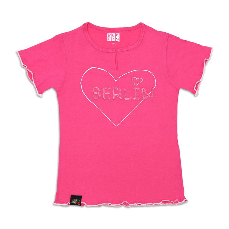Girly T-Shirt Patch BERLIN pink-74