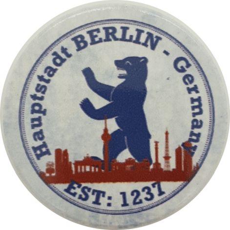 Magnet BERLIN Skyline Bär rund
