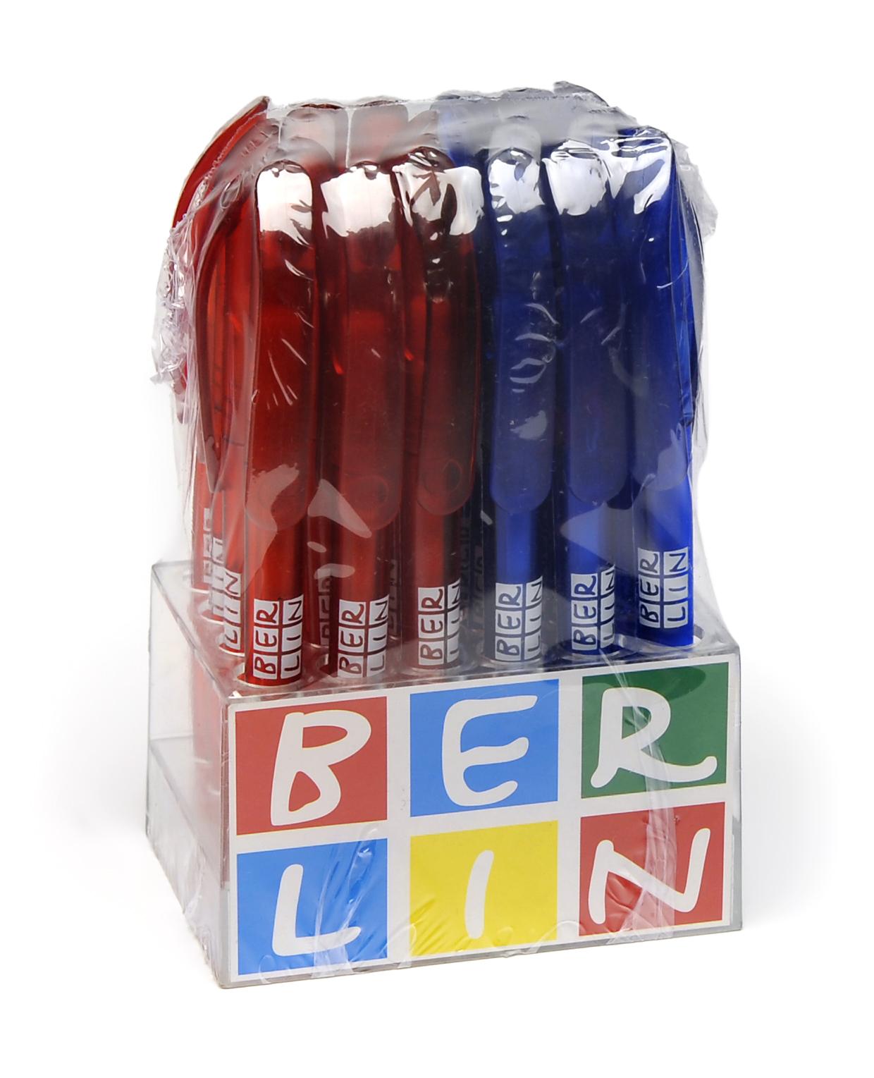 Kugelschreiber BERLIN rot