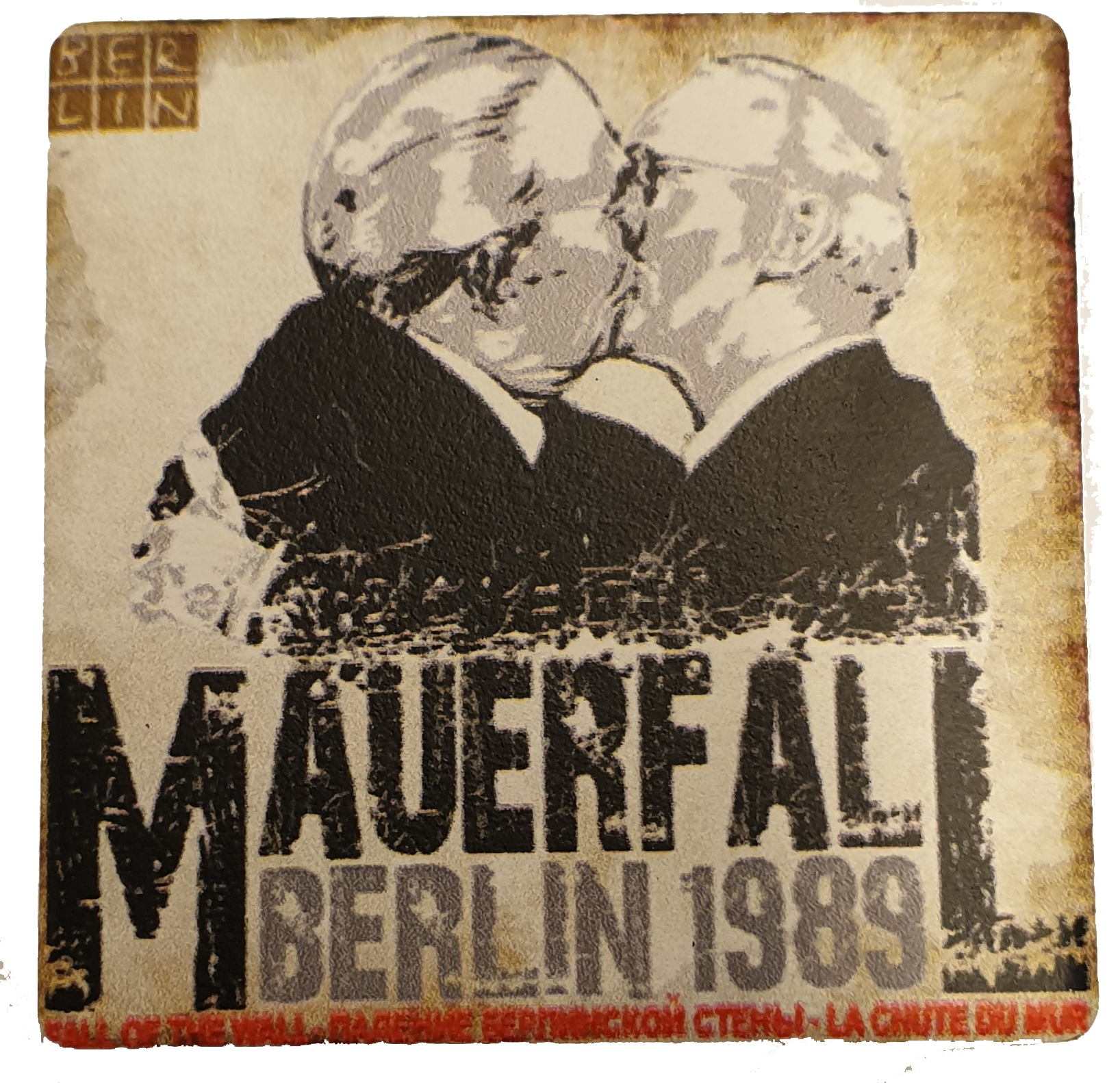 Magnet Bruderkuss BERLIN