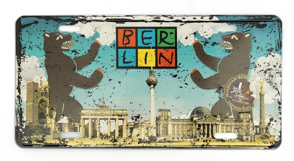 Blechschild BERLIN