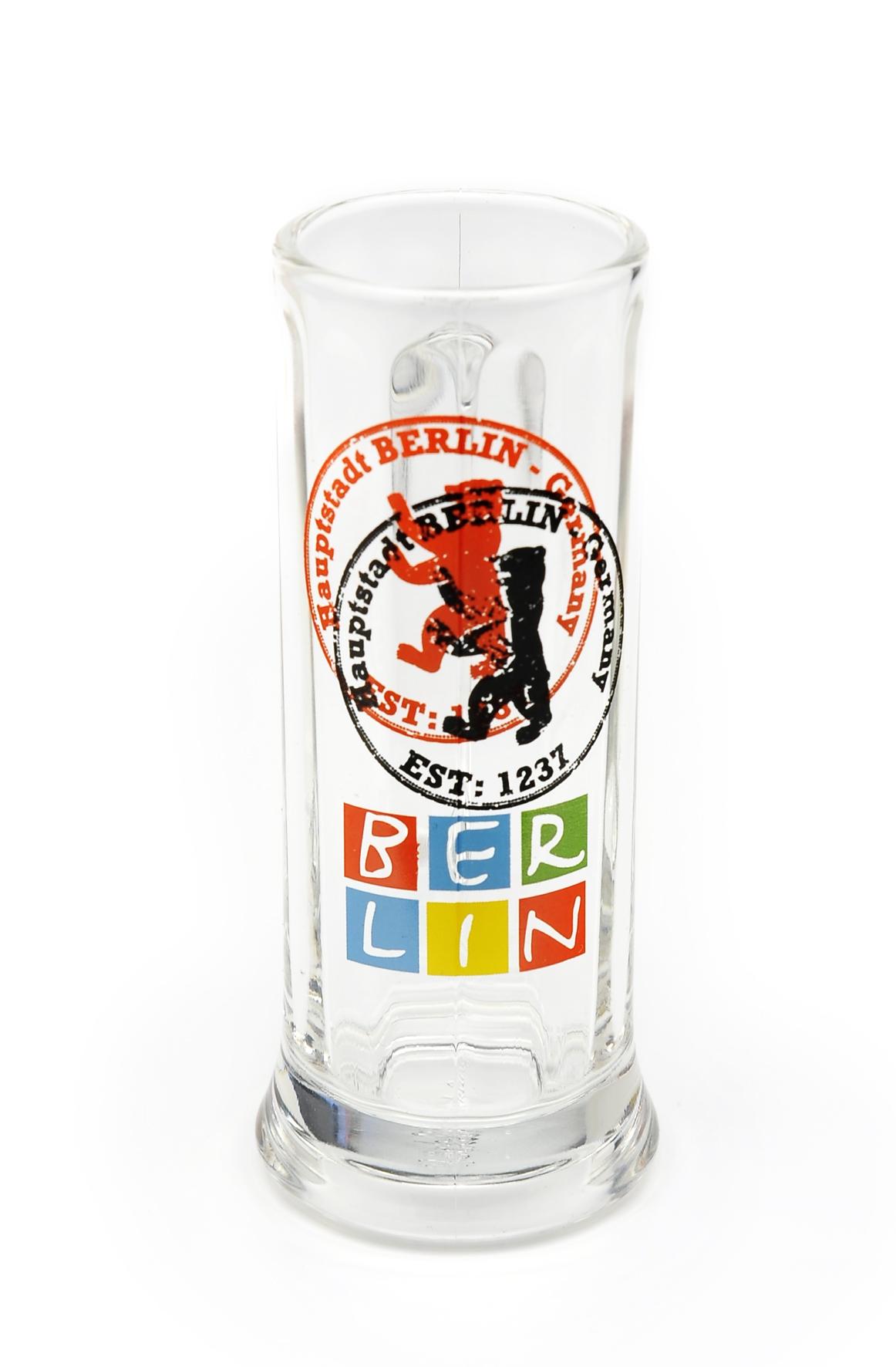 Mini Bierglas BERLIN 4 cl