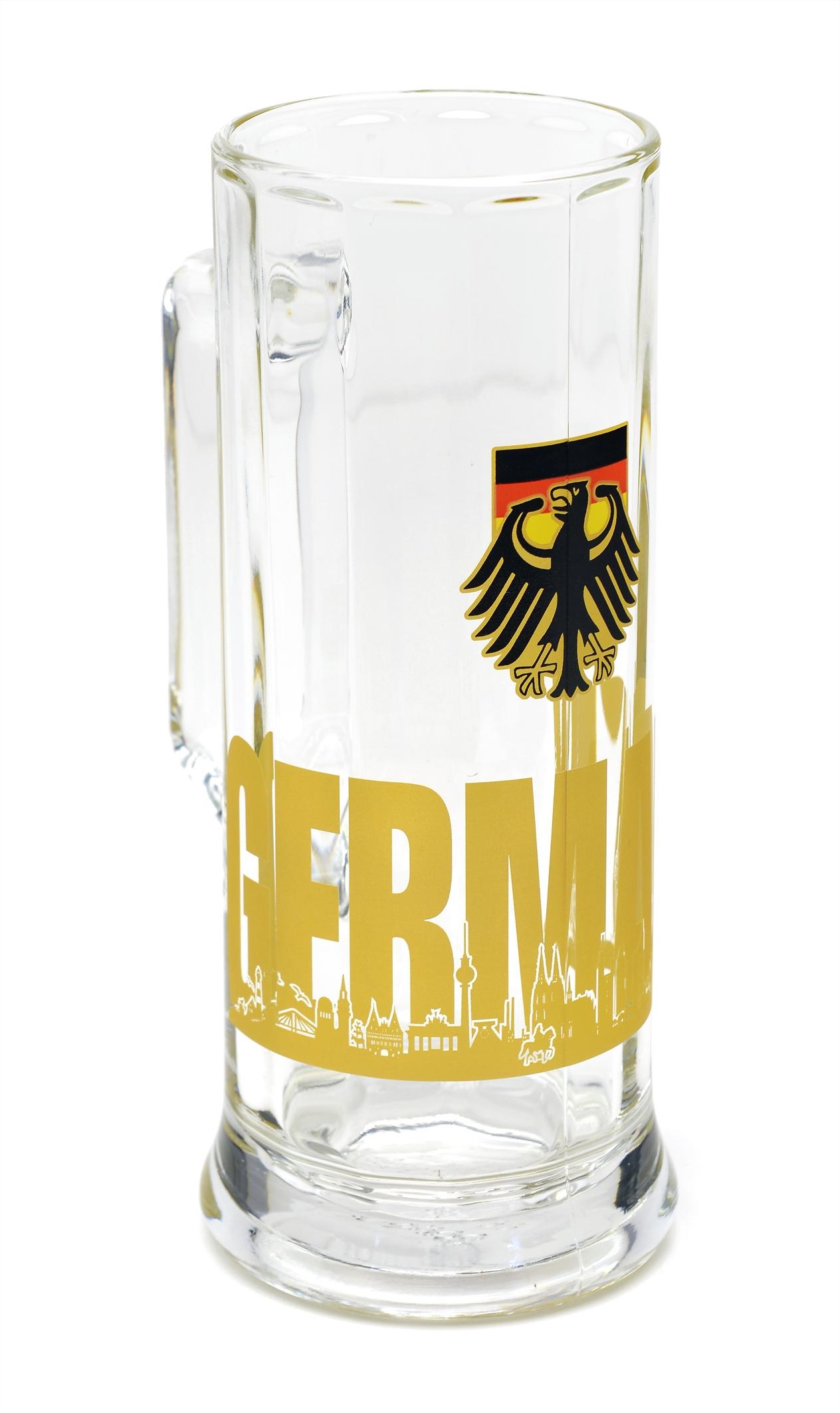 Bierglas Germany Skyline 0,5 Liter