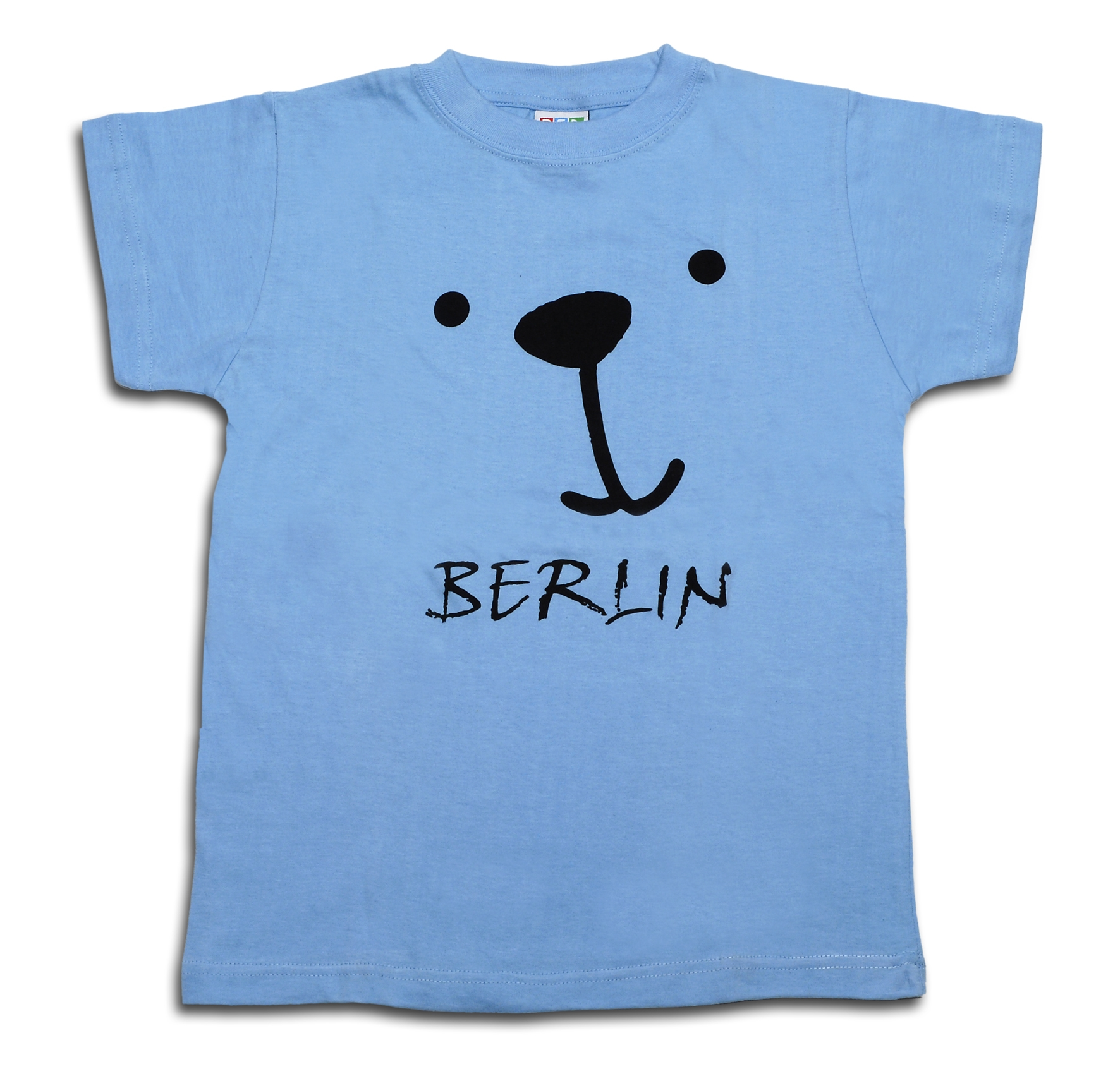 T-Shirts Kids Bärchen blau-116