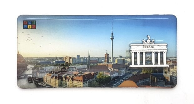 BERLIN Epoxy Magnet mit B´Tor -  No. 3