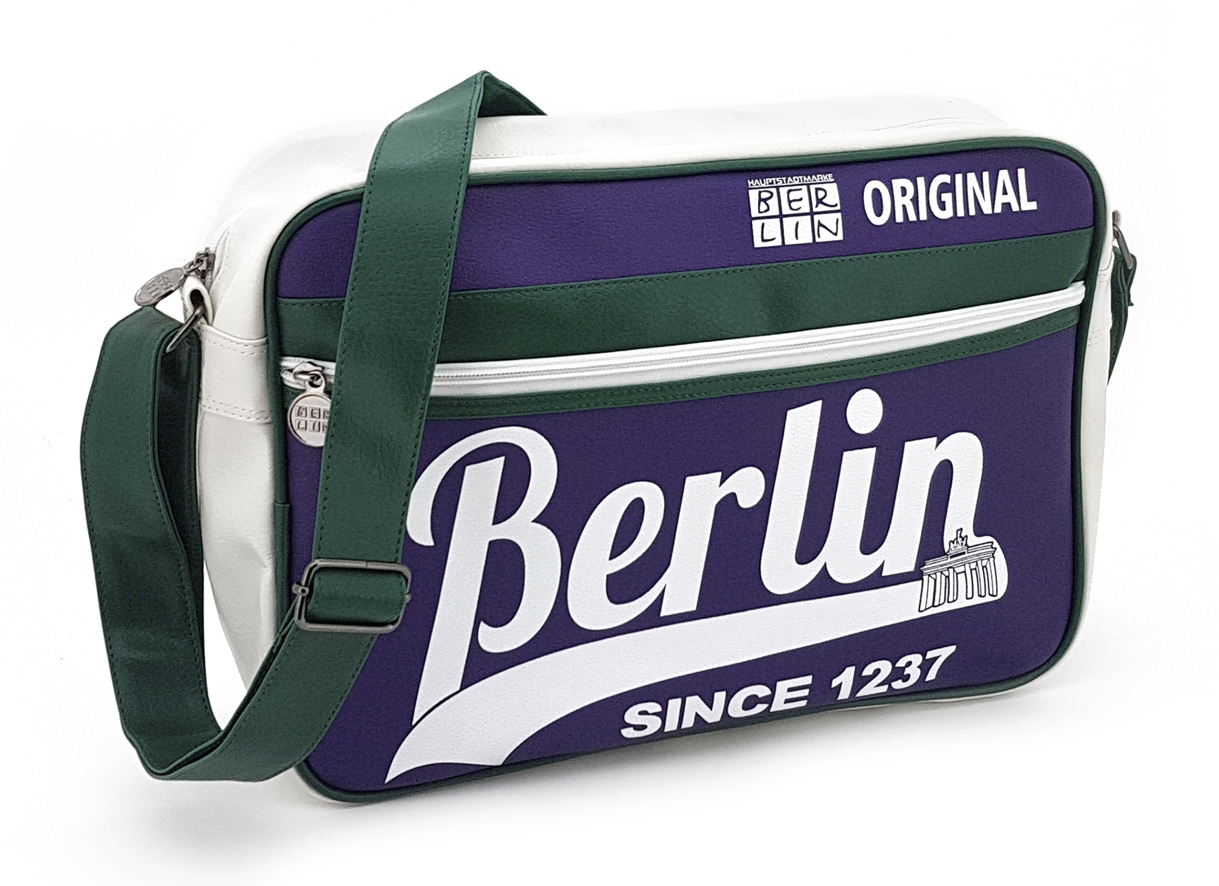 Retrotasche BERLIN Original lila