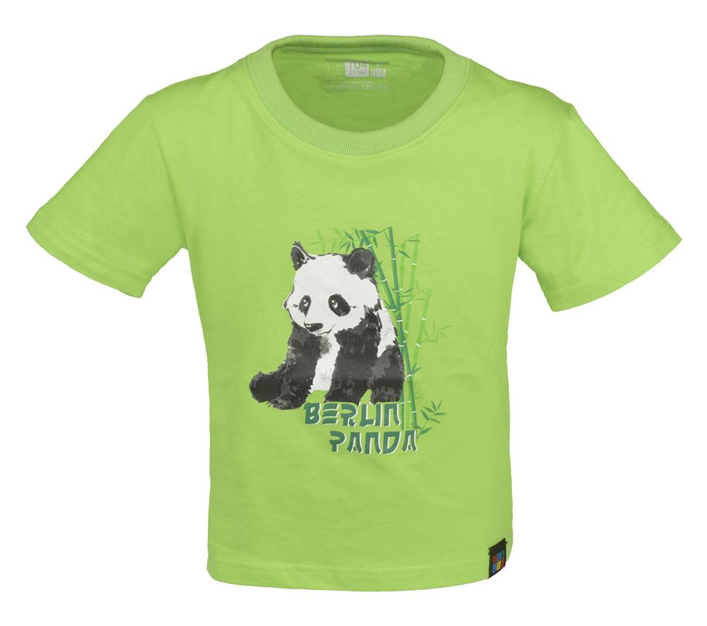 Kids & Baby T-Shirt Panda BERLIN grün-128