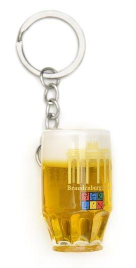 Schlüsselanhänger Bierseidel BERLIN