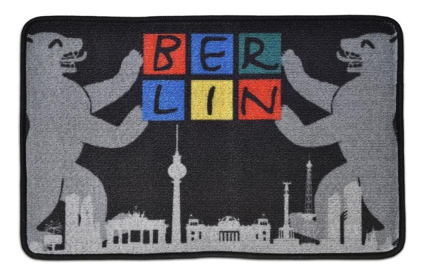 Fußmatte BERLIN Skyline