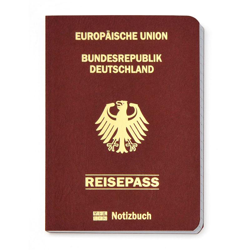 Reisepass/Notizbuch BERLIN
