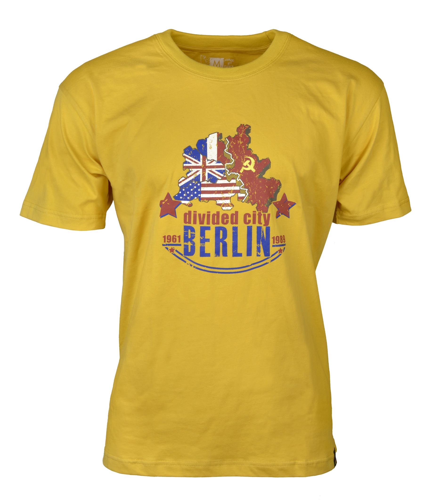 """T-Shirt """"Divided City"""" grau-XL"""