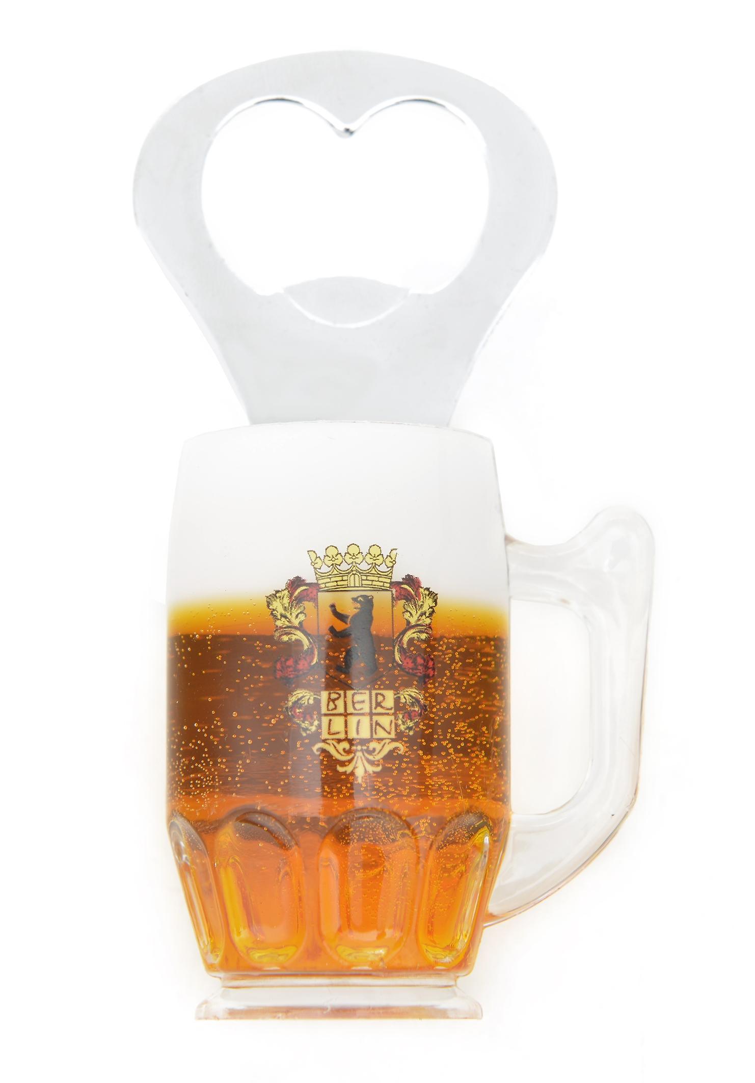Magnet Flaschenöffner Bierseidel Wappen