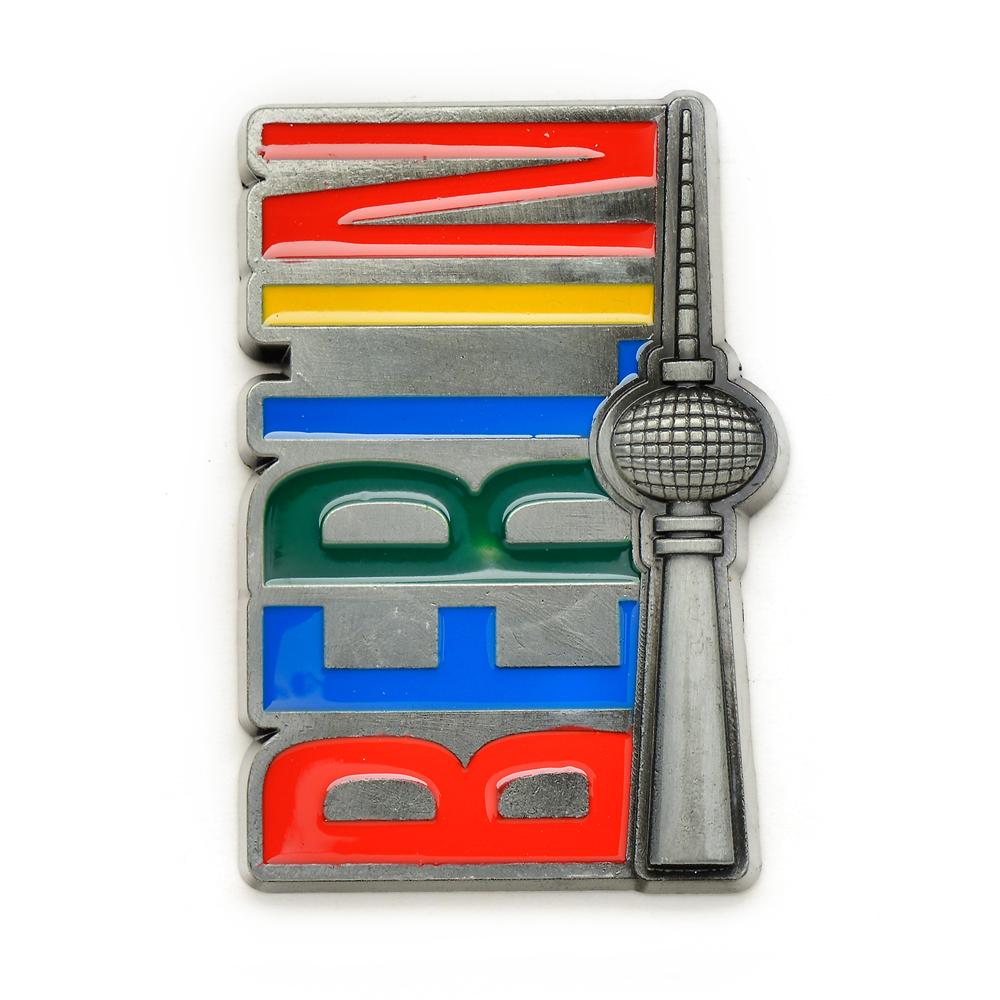 Magnet BERLIN TV-Turm Relief / Metall