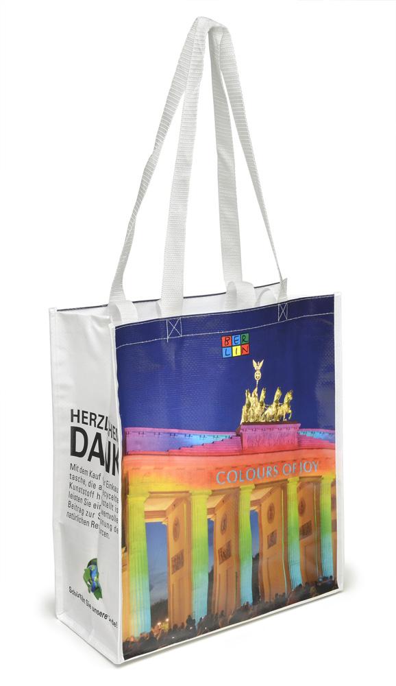 PP-Shoppingbag Brandenburger Tor BERLIN