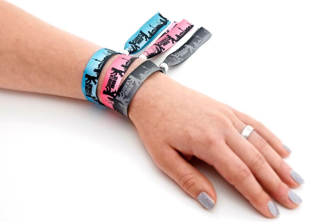 Festival Armband Berlin pink