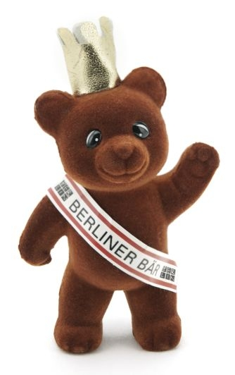 Mini Berliner Bär mit Scherpe