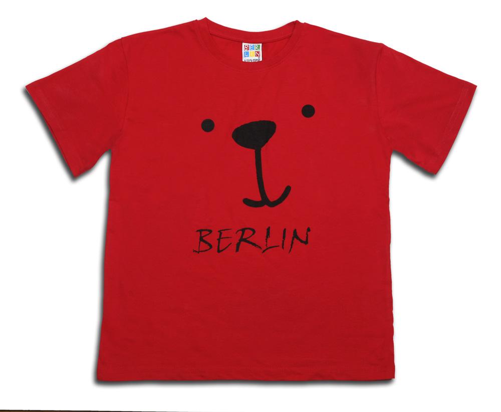 Kids & Baby T-Shirt Bärchen rot-98