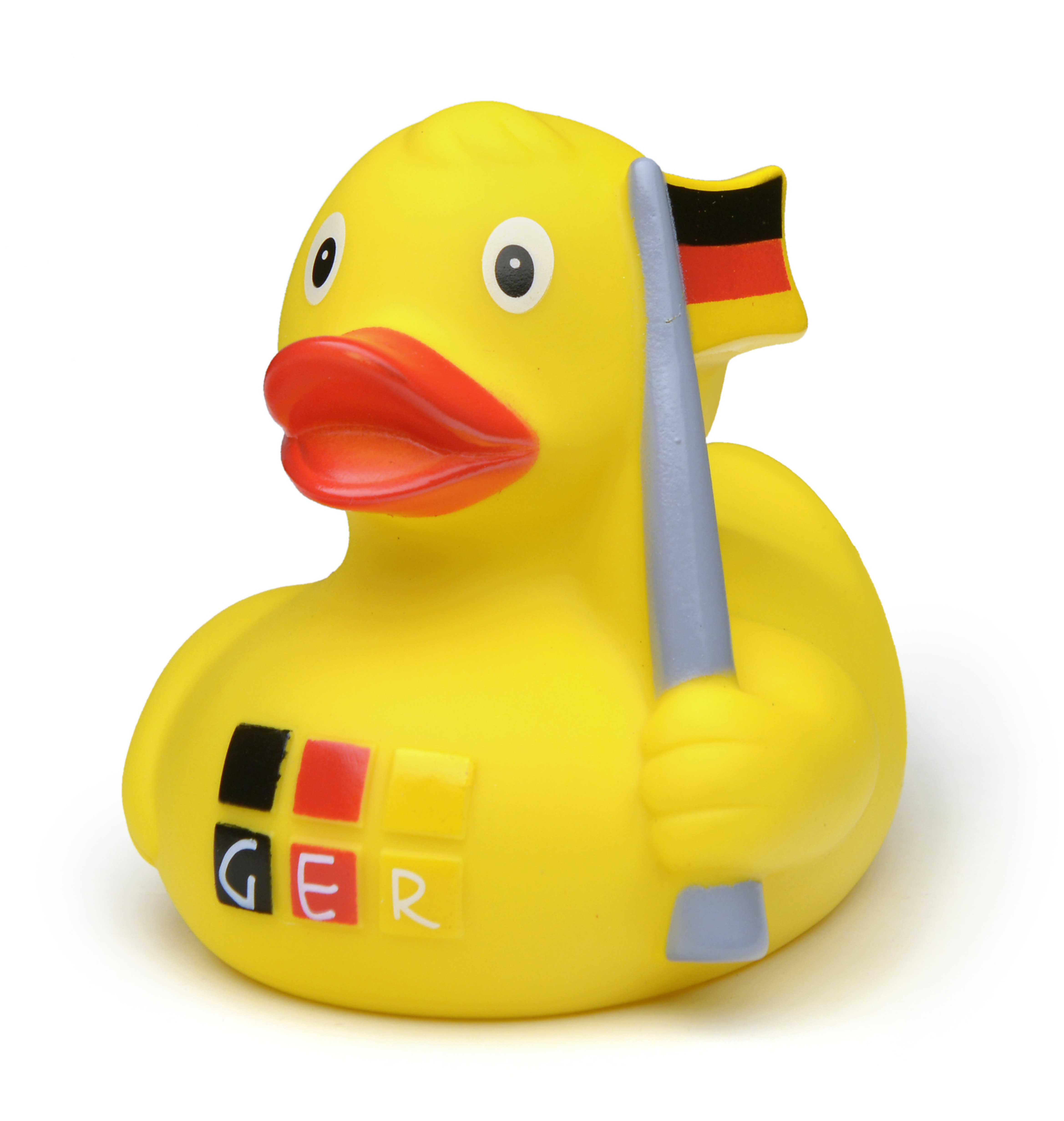 Gummi-Ente Germany mit Fahne